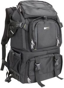 Evecase Professional Gadget Bag Backpack